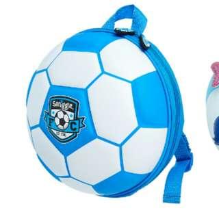 Smiggle football hardtop bagpack