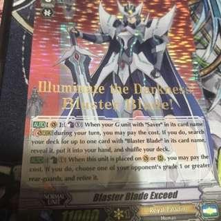 Blaster Blade Exceed Hot Stamp Card