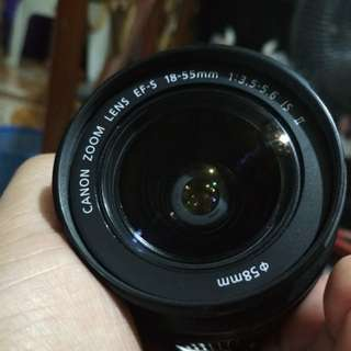 Canon Kitlens 18-55mm 3.5-5.6 IS ii