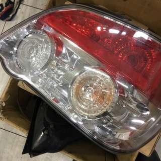 Subaru wrx rear lamp set