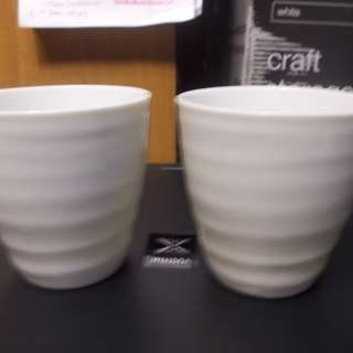 White Porcelain Tea Cups
