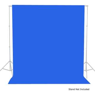BN Blue Muslin Backdrop Cloth (3m x 5m) - Suits Video or Photography