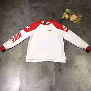 Nike Ins Style Red / White One Piece Pullover Couple
