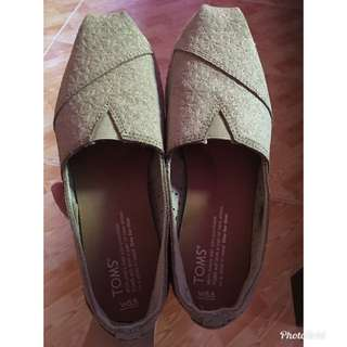 Oxford Tan Suede Moroccan Rope Sole (Toms)