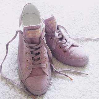 Converse - Exclusive Colour (Burnished Lilac Rose Gold)