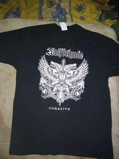 Tshirt wolf brigade -comalive-
