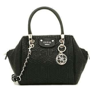 TAS/BAG GUESS VG621205 G CUBE QUILT BLACK shoulder/hand bag