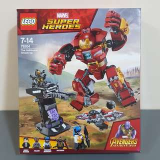 Lego 76104 Marvel Avengers Ironman Hulkbuster Smash-up Infinity Wars - brand new MISB