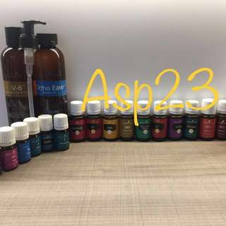Authentic Young living essential oils new stock lavender alkalime peppermint RC eucalyptus frankincense lemon thieves etc