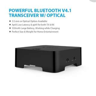 Trond wireless audio transceiver with optical(bt duo x)