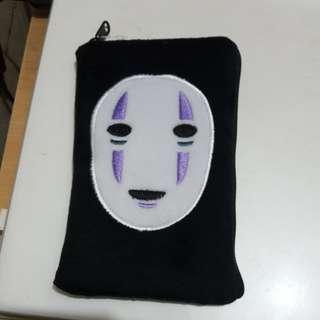 無臉男手機包