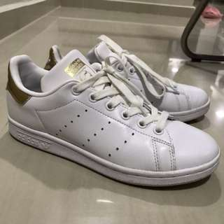 adidas gold white stan smith