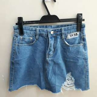 Denim skirt 100.00 only! | 28