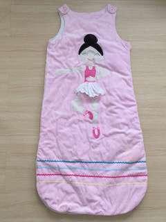 Pink Ballerina Baby Sleeping Bag