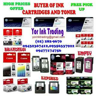 Ink cartridges and toner buying