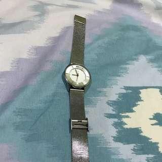 VNC Silver Watch