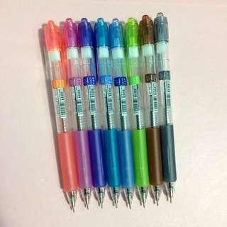 Styno 8 pieces Gel Pen Set