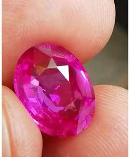 7.5 ct  Unheated  sri lankan natural Pink Sapphire