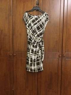 DVF wrap dress