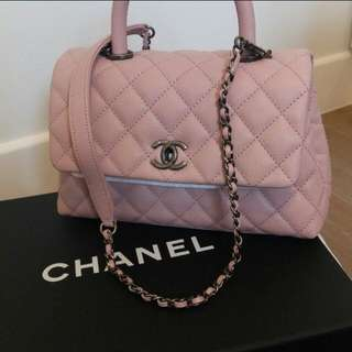 Not available-Chanel Coco Handle bag