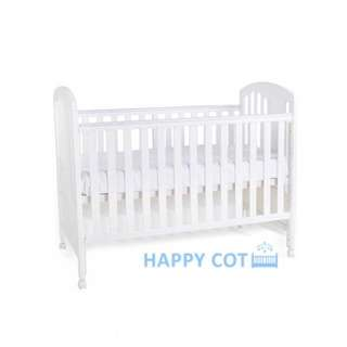 Happy dream 4 in 1 convertible baby cot
