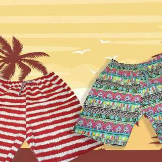 Printed short for men!! Only PHP 180!!