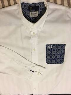 Fred Perry X Drake's Paisley Shirt (M)