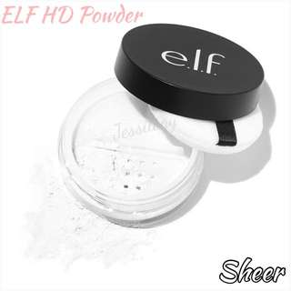 INSTOCK ELF Studio - High Definition Powder - ELF Cosmetics HD Powder / e.l.f. Cosmetics HD Powder in SHEER