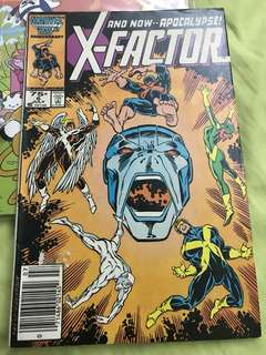 Marvel X Factor #6 First Appearance of Apocalypse 4.0-4.5 grade (see photos)