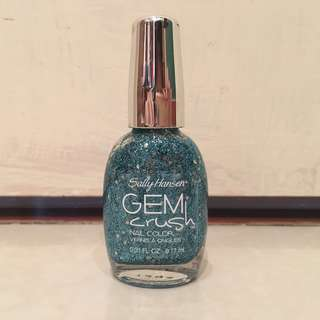 ⭐️Brand new Sally Hansen Gem Crush Blue nail polish⭐️