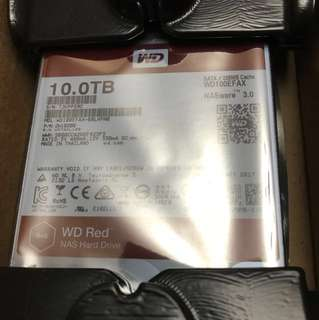 Wd red 10tb hard drive