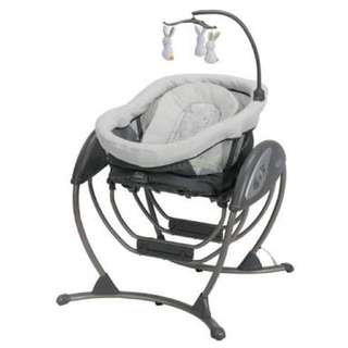 Graco 2in1 baby dream glider swing rocker
