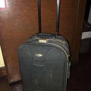 Masina Luggage black bag