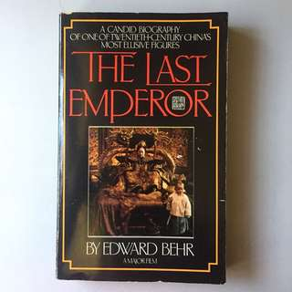 The Last Emperor by Edward Behr