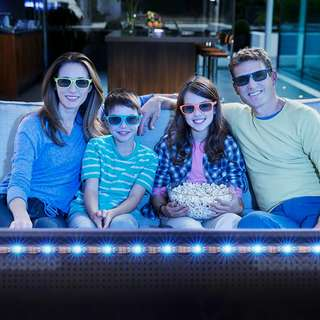 "35.4"" LED Strips Bias Lighting TV Backlight RGB Lights"