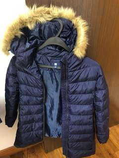 Kids Winter Jacket Parka (Lightly Padded)