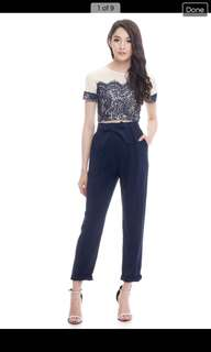 The Closet Lover *Premium* TCL Paperplain Pants in Navy SIZE: M