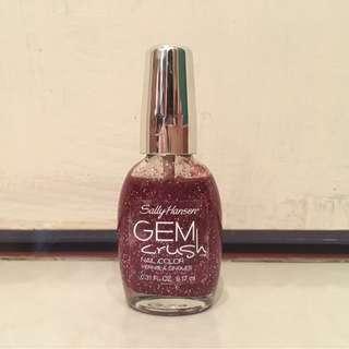 ⭐️Sally Hansen Maroon Gem Crush nail polish⭐️