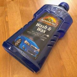 ArmorAll Wash & Wax 1公升裝 車用濃縮洗車/打蠟水