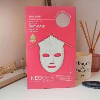 Neogen Dermalogy Pink Cactus knit mask