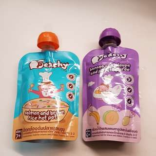 To bless: Baby food pouch