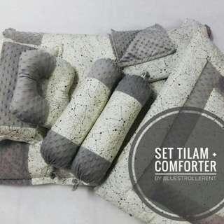 Set tilam kekabu + comforter