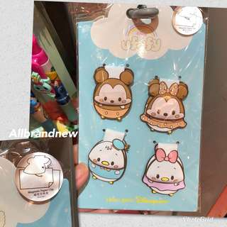 PO Hong Kong Disney ufufy magnetic paper clips set
