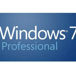Genuine Windows 7 Professional x64