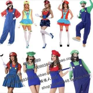 Mario costume po