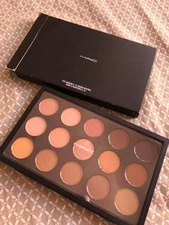 X15 MAC WARM EYESHADOW PALETTE