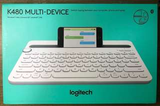 Logitech K480 bluetooth multi-keyboard