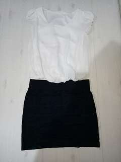 Setelan Baju dan Rok size S