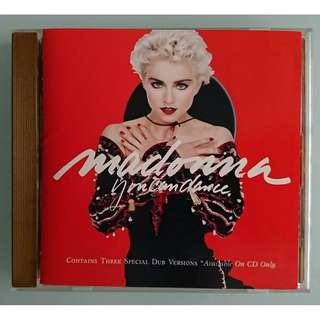Madonna - Rare You Can Dance Japan Gold CD Disc Album Warner - Pioneer Corporation 43XD-2000