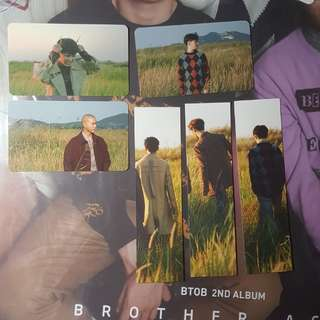 BTOB BROTHER ACT 小卡